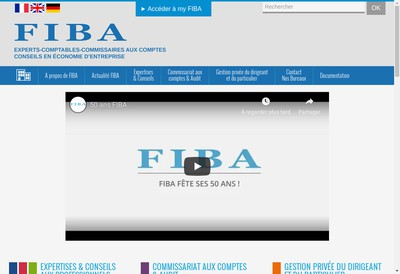 Site internet de Groupe Fiba