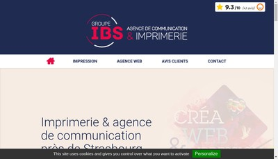 Site internet de Ibs
