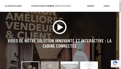Site internet de Interway Architecture Reseau