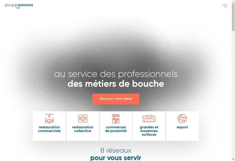 Capture d'écran du site de Viviers de Porsguen