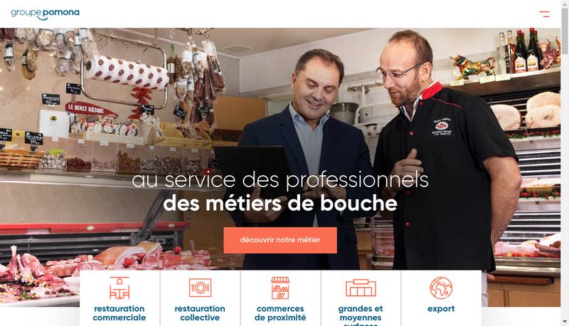 Capture d'écran du site de Maree du Cotentin