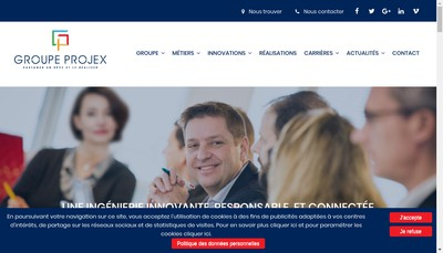 Site internet de Probim