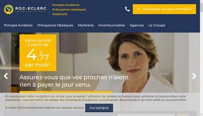 Site internet de Soissons Funeraire