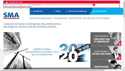 Site internet de Societe Mutuelle d'Assurance du Btp