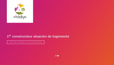 Site internet de Groupe Vivialys