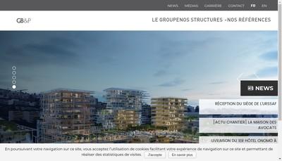 Site internet de Builders And Partners