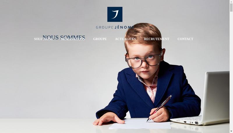 Capture d'écran du site de Imprimerie Desbouis Gresil