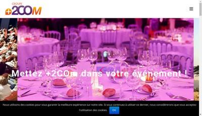 Site internet de 2Co Image