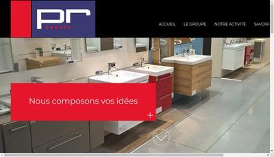 Site internet de Groupe Pr