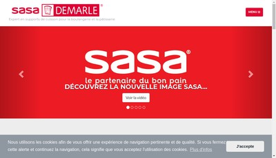 Site internet de Groupe Sasa Demarle