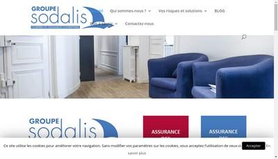 Site internet de Sodalis Iard, Sodalis Collectivites, Modena, 3P Courtage, Cabinet-Saint-Paul-Assurances Cspa