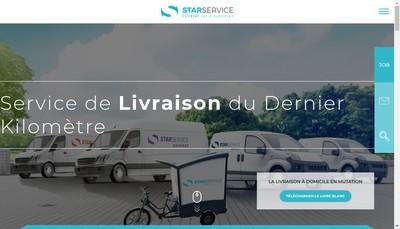 Site internet de Star'S Service