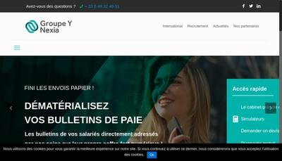 Site internet de Groupe Y Nexia