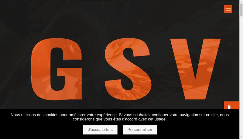Capture d'écran du site de Guilmet Serrurier Vitrier