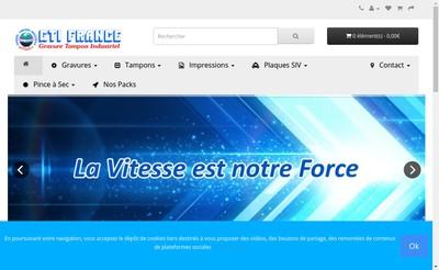 Site internet de Gti France Fravure Tampons Sud