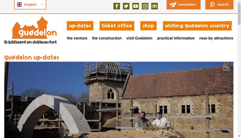 Capture d'écran du site de Construire Pour Comprendre