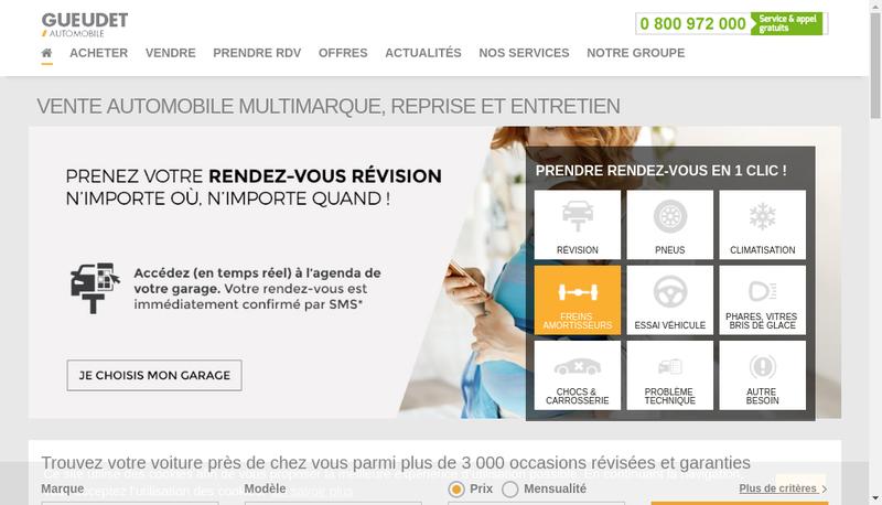 Capture d'écran du site de Saint Merri Amiens