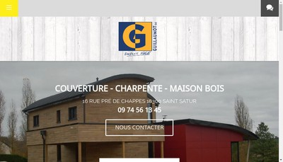 Site internet de Entreprise William Guillaumot