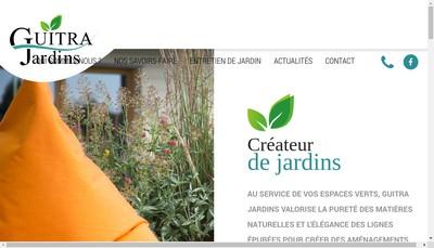 Site internet de Guitra