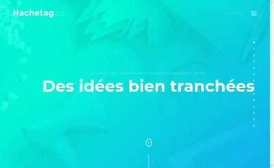 Site internet de Hachetag