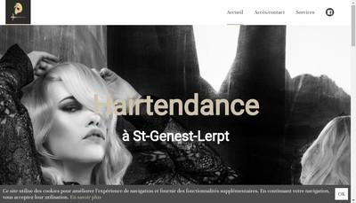 Site internet de Hairtendance