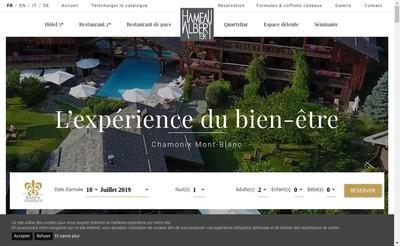 Site internet de Le Hameau-Albert 1Er