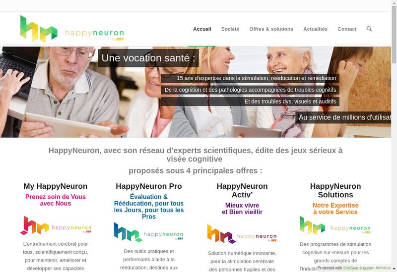 Capture d'écran du site de Sbt Human(S) Matter