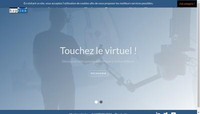 Site internet de Haption