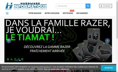 Site internet de Hardware Informatique
