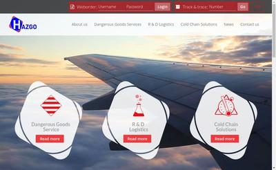 Site internet de Hazgo France