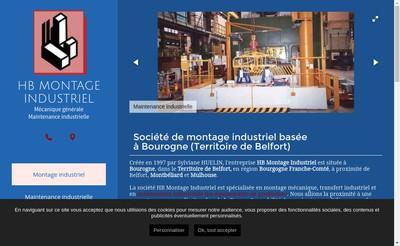 Site internet de Hb Montage Industriel