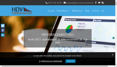 Site internet de Hdv Referencement