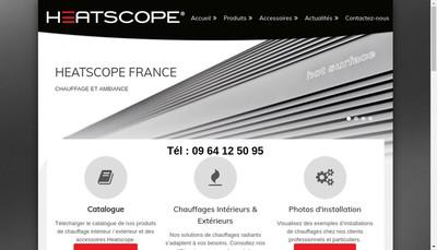 Site internet de Heatscope France