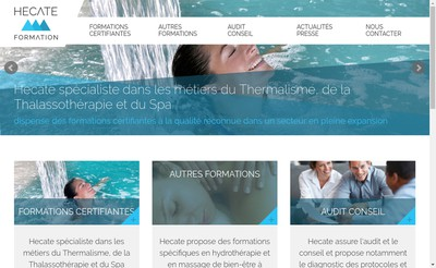 Site internet de Hecate Formation