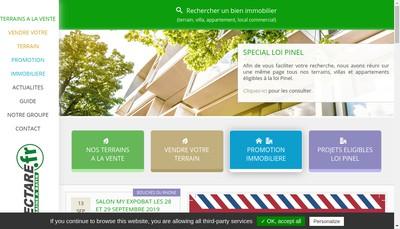 Site internet de Hectare SA
