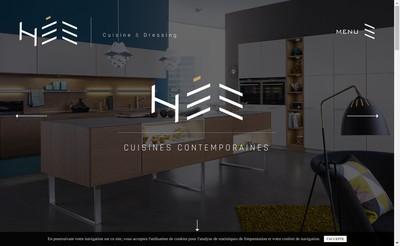 Site internet de Cuisin'Hee