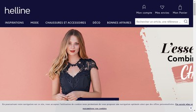 Site internet de Helline