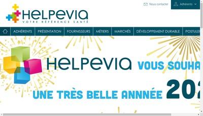 Site internet de Helpevia