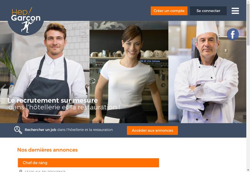 Capture d'écran du site de Hep Garcon