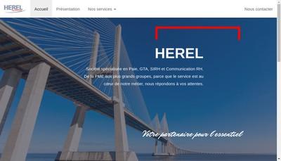 Site internet de Herel Paie & Personnel