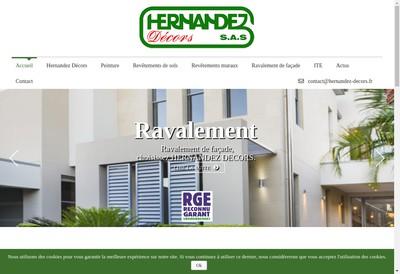Site internet de Hernandez Decors