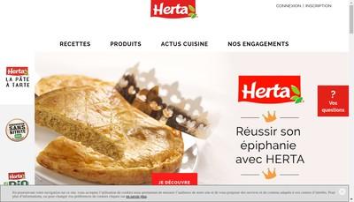Site internet de Herta