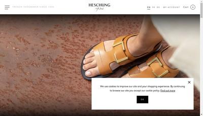 Site internet de Heschung SA
