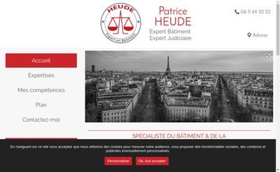 Site internet de Patrice Heude