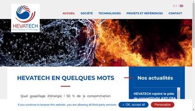 Site internet de Hevatech