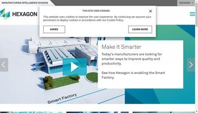 Site internet de Hexagon Metrology SAS