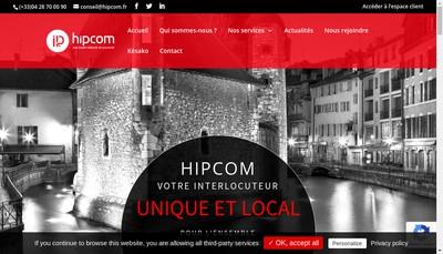 Site internet de Isere Telecom