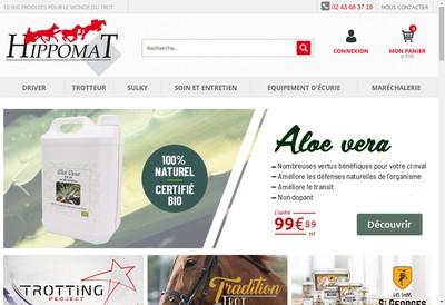 Site internet de Hippomat