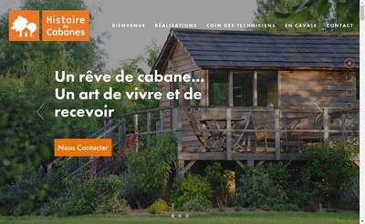 Site internet de Histoire de Cabanes