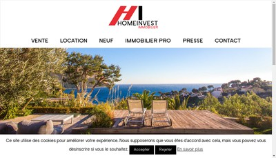 Site internet de Home Invest Finance